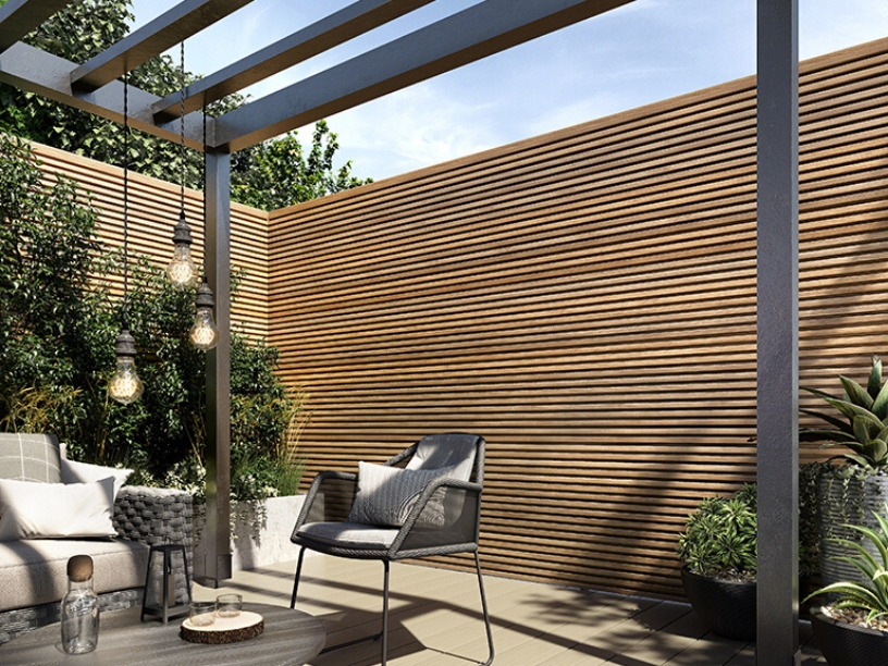Decking & Slatted Cladding Project | View Our Projects ...