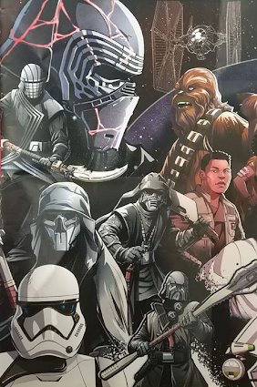 The Rise Of Skywalker Images Of Upcoming Retail Items Give Us A New Look At The Knights Of Ren And Our Main Cast Of Characters Knights Of Ren Star Wars Background