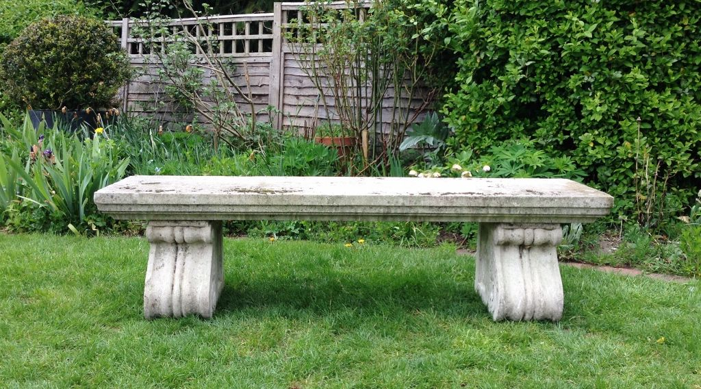 Large Stone Bench In From The Vintage Garden Company Vintage Garden Stone Bench Bench