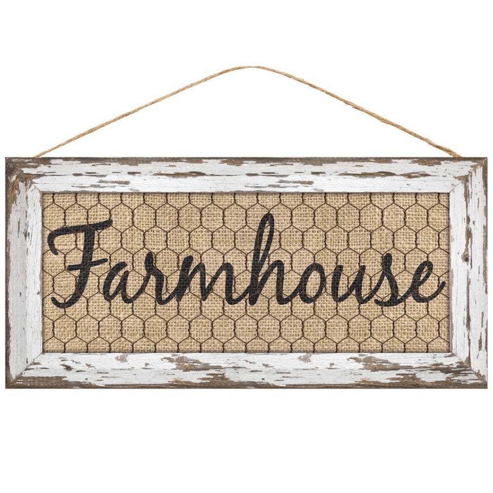 Photo of 12.5″ Farmhouse Sign AP831627