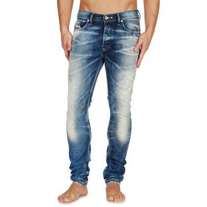 713bca03 Diesel Tepphar 0887V Slim Carrot Jeans   Diesel Tepphar Jeans at ...