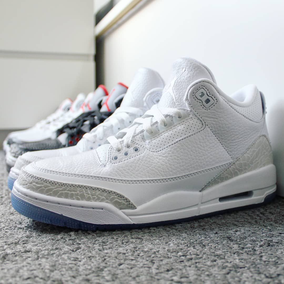 34cbadd50798 COP🔥or DROP🗑   CommentTag a friend who will copGo check out my Air Jordan  3 Retro Pure White on feet video.Quick link in bio.