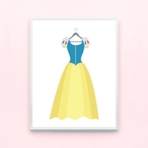Snow White Disney Wall Art Girls Wall Decor – Ritzy Reba | Family ...