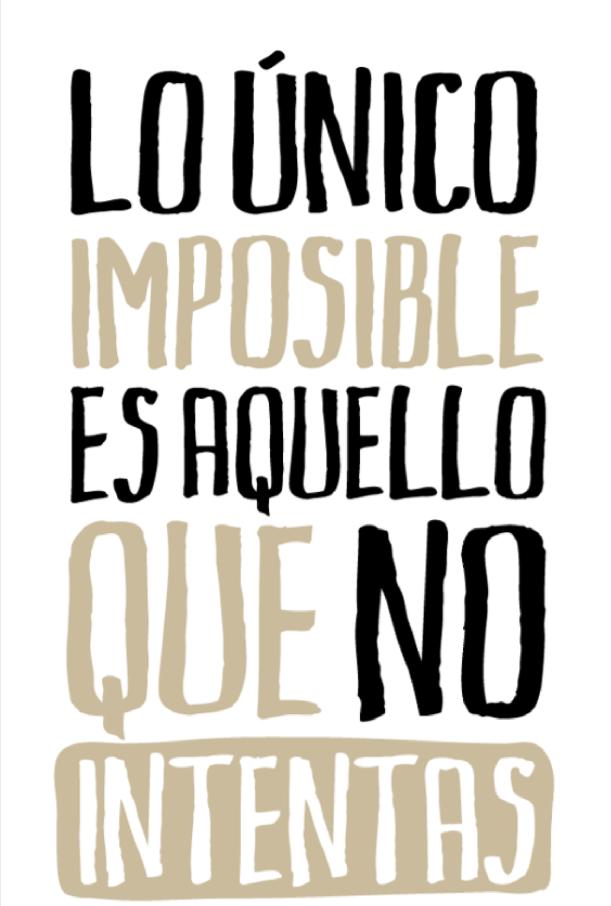 Frase Inspiradora #Siguetussueñosnuncaterindas