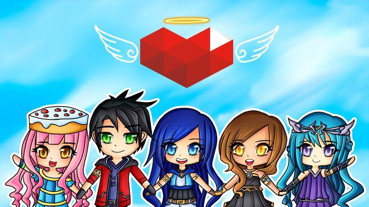 Itsfunneh S Charity Livestream Helps Us Save Children Unicef Youtube Minecraft Anime Girls Cute Youtubers Minecraft Anime