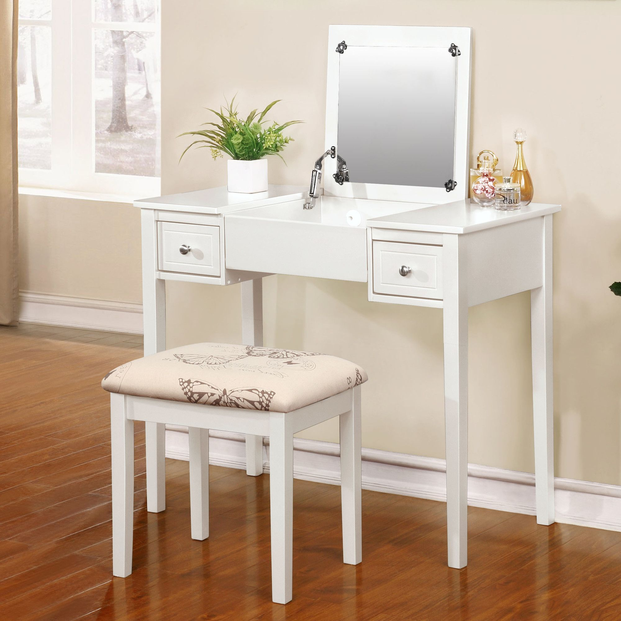 metal picture modern standing wooden and drawers rectangular makeup table with furniture bedrooms white also bedroom frame vanities chrome corner mirror round bathroom for desk vanity