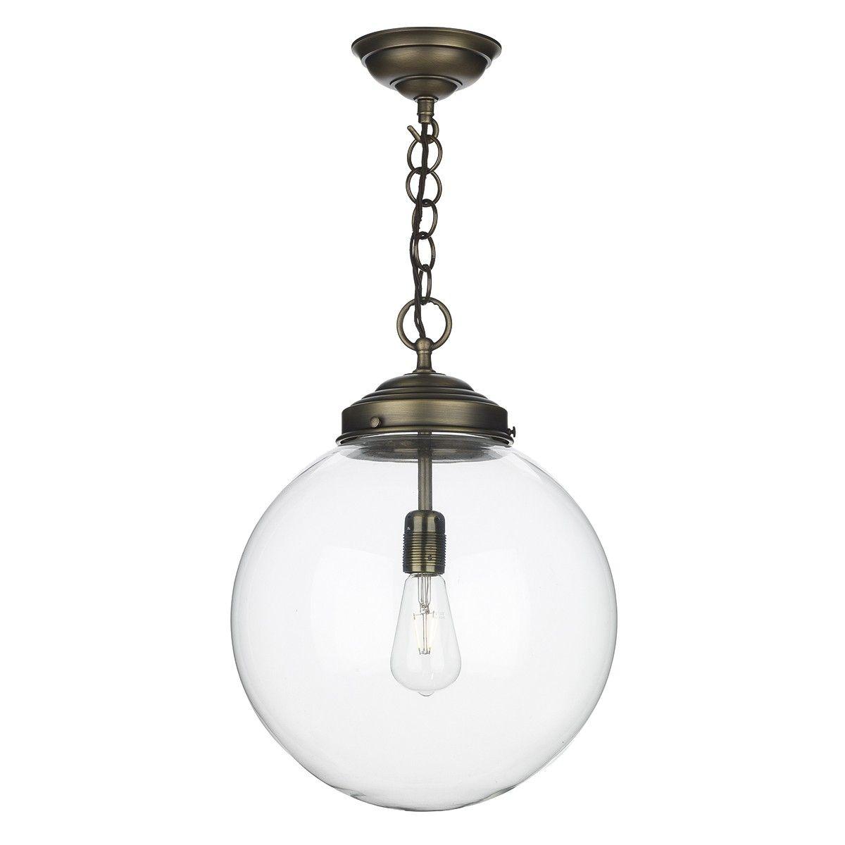 David Hunt Lighting Fairfax Light Brass