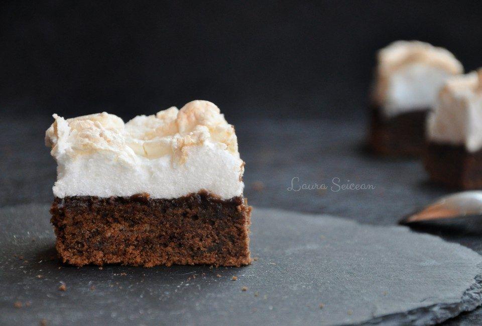 Negresa Cu Gem Si Bezea Laura Laurențiu Recipe Desserts Food Cake Recipes