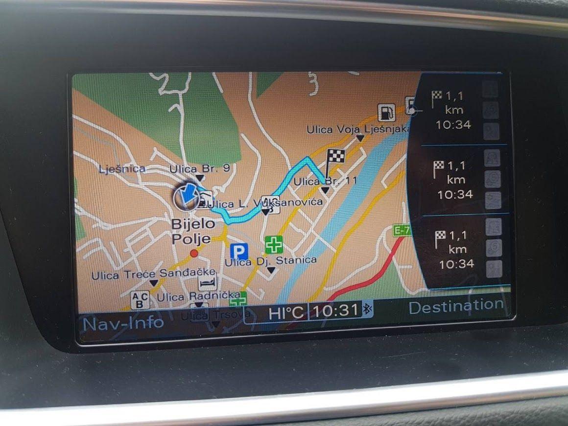 Najnovija Navigaciona Mapa Srbije I Evrope 2020 Za Audi Mmi 3g