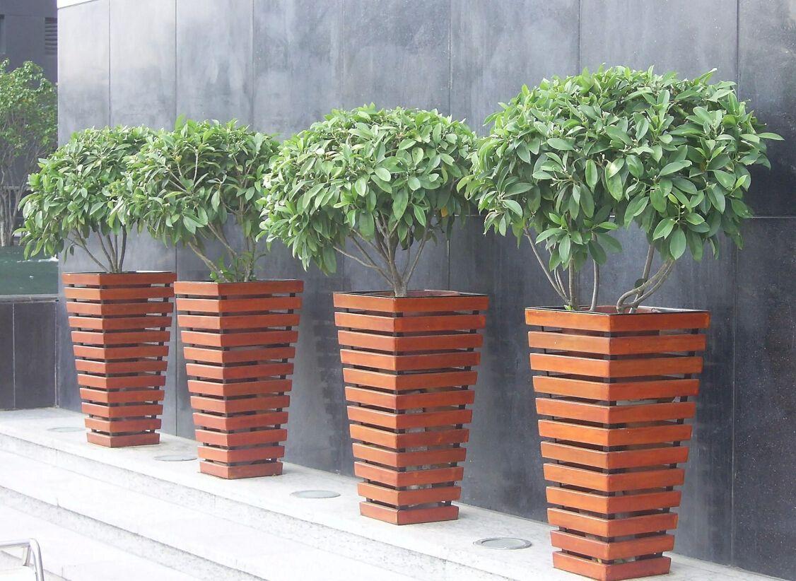 Plastic Wood Flower Boxes Wholesale Wood Plastic Plant Boxes That