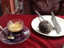 Le e Lu on the eat- espresso and coconut chocolat ball