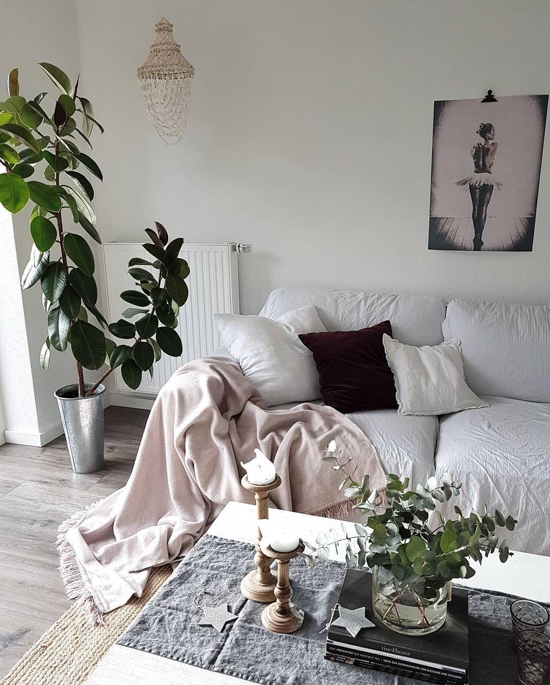 Decke Rosa Wohnzimmer Einrichtung Wohnen Kuscheldecke Deckchen