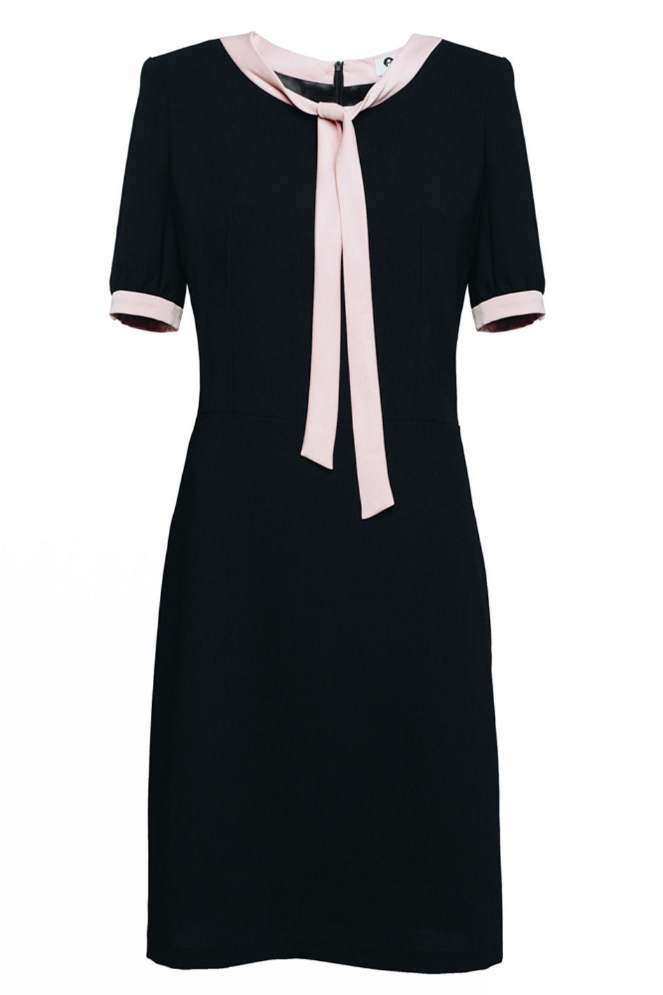 Sukienka Z Kokarda Jackie Dresses With Sleeves Short Sleeve Dresses Fashion