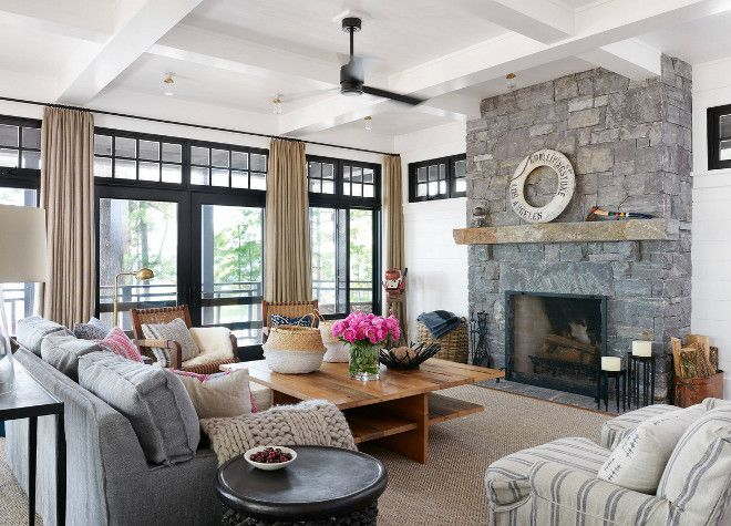 20 Living Room With Fireplace That Will Warm You All Winter
