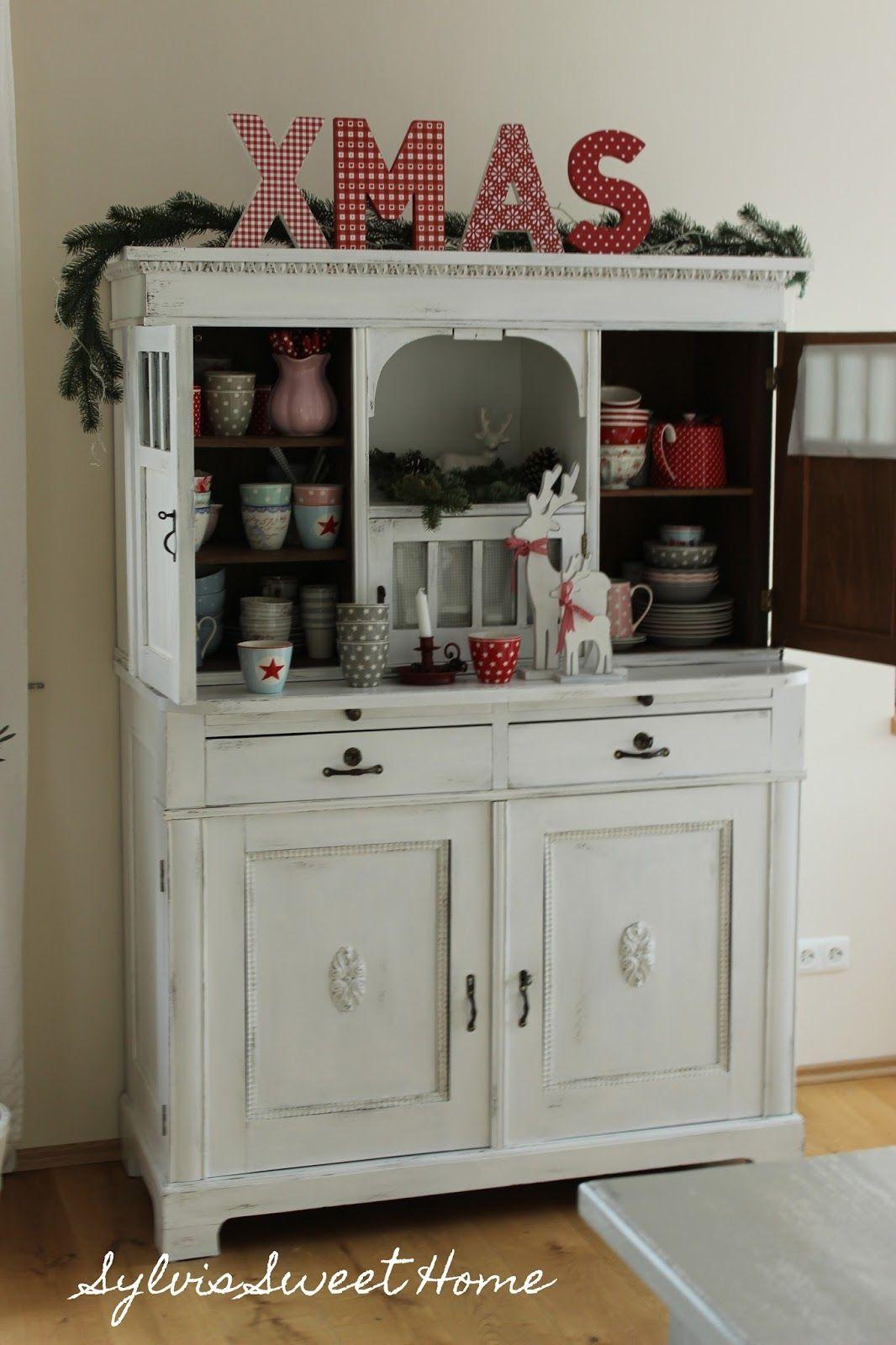 Schön Deko · Sylvis Sweet Home. Deko WeihnachtenWohnzimmerEinrichtungTrautes HeimSchäbig  VintageAdventMöbel