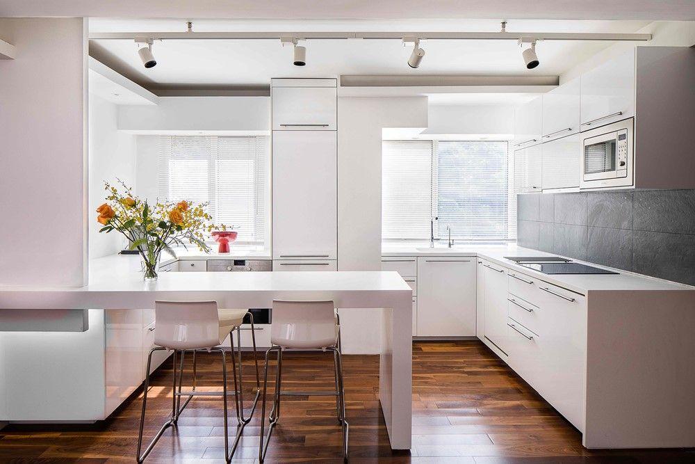 Pin by ByDarash on white kitchens Modern kitchen open