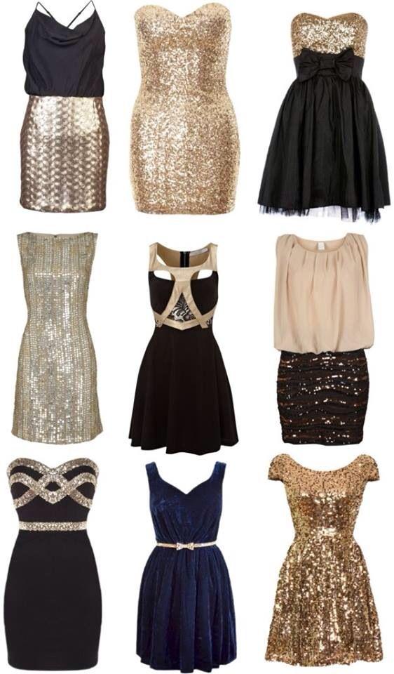 Sequins fab dresses!