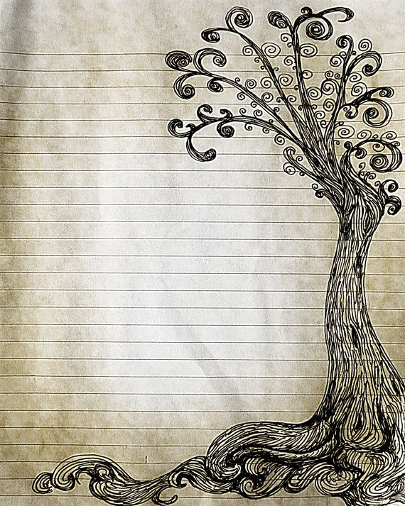 1000 images about lined writing paper – Print Lined Writing Paper