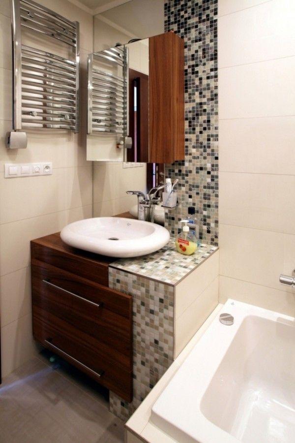 Others Enthralling Small Bathroom Vanity Backsplash Ideas