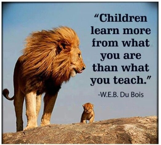 For parents.