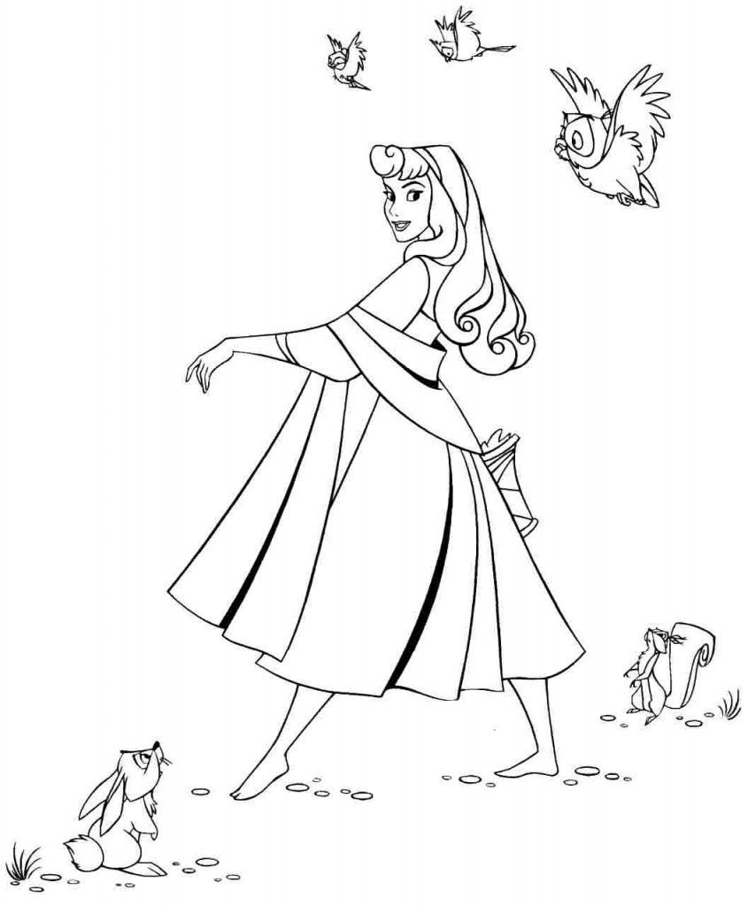 Free Printable Sleeping Beauty Coloring Pages For Kids Sleeping Beauty In 2020 Sleeping Beauty Coloring Pages Princess Coloring Pages Disney Coloring Pages