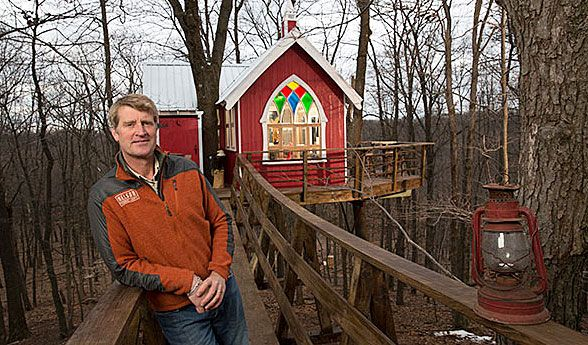 this guy may be the best treehouse builder in the world treehouse design