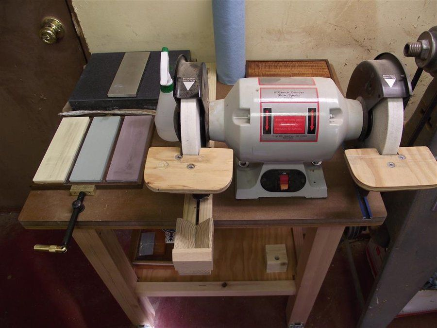 Sharpening Station Workshop Woodworking Tools Wood