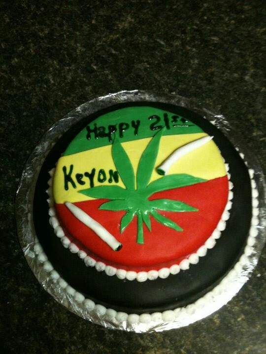 Weed Cake My Cakes Pinterest Cake Crazy Cakes And Food