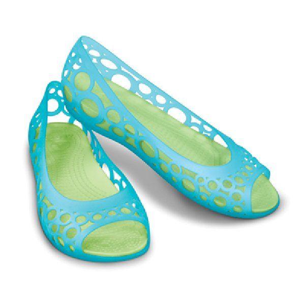 Crocs adrina flat - Jelly shoes are back! Flashback!