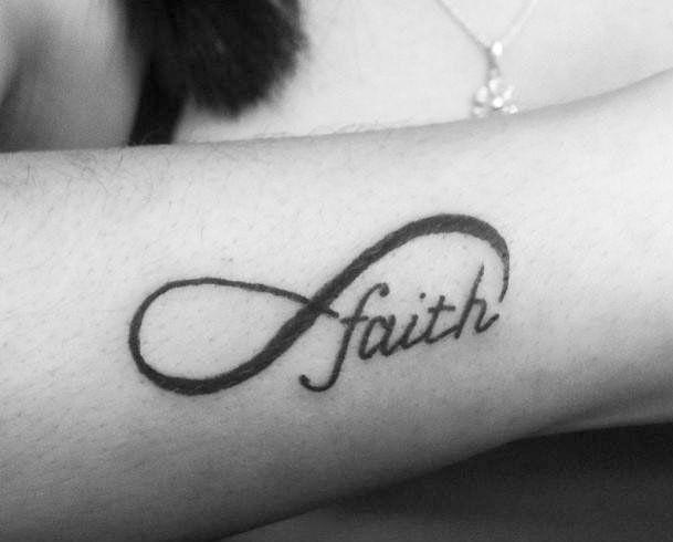 Infinity Faith Tattoo Infinity Tattoo Designs Infinity Tattoo On Wrist Infinity Tattoo