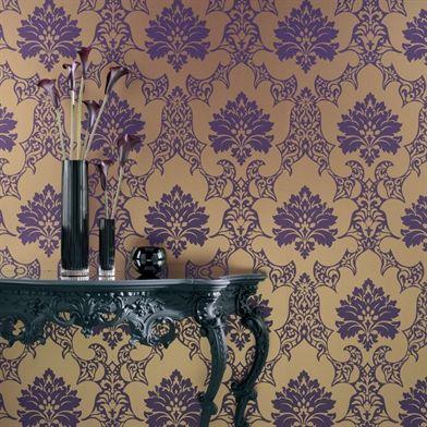 papier peint damassé Osborne & Little Rostellan   Travel & Places ...