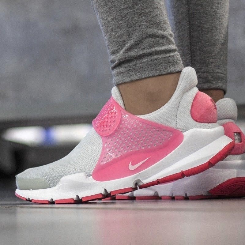 pequeño Desenmarañar Contabilidad  NIKE Sock Dart GS Girls Sz 6Y Shoes Running Sneakers 904277-001 Gray White  Pink | Nike sock dart, Running sneakers, Sneakers