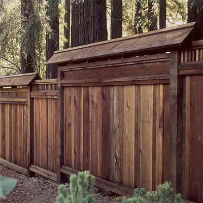12 Spring Fix Ups That Save You Money Wood Fence Design Fence
