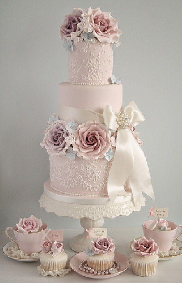 Rose Wedding Cake Cakes Hochzeitstorte Torte Hochzeit