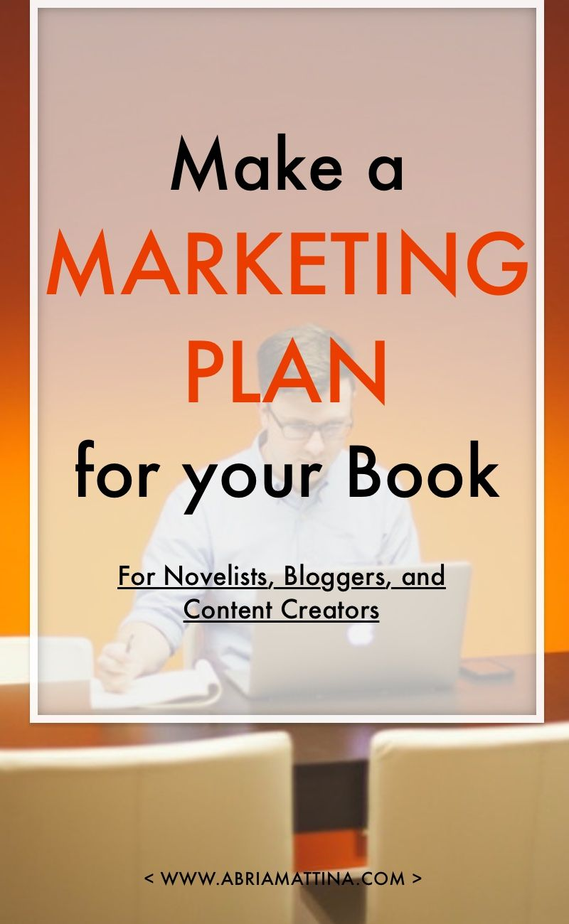 Make A Marketing Plan For Your Book Six Days Six Emails Of