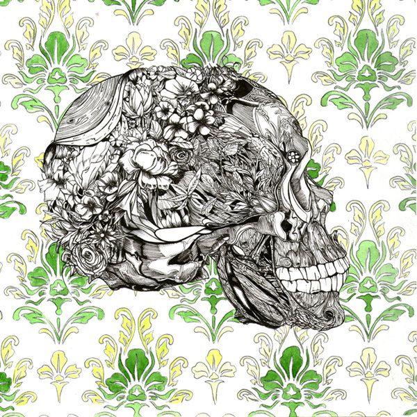 Skulls on Behance