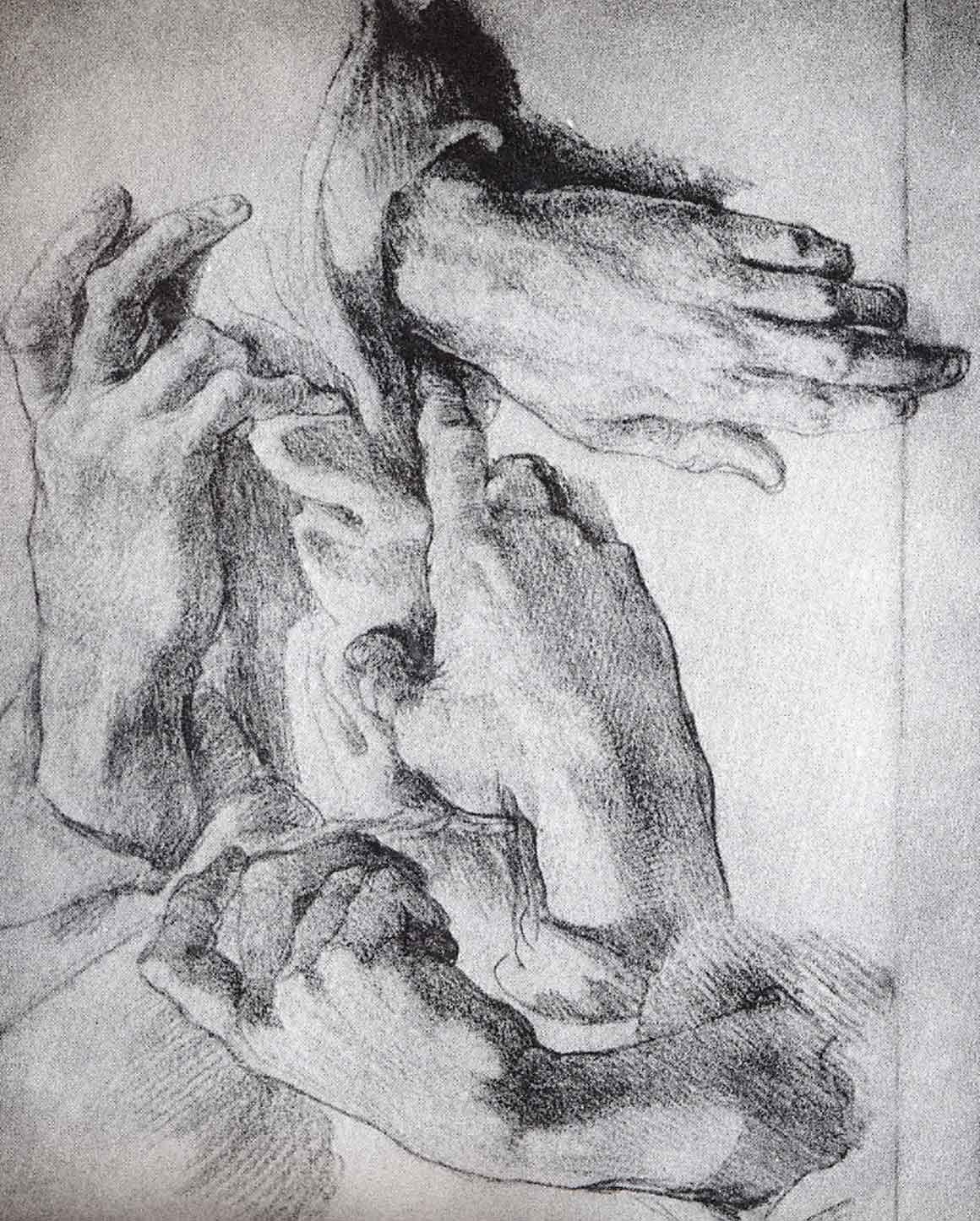 Hands by Michelangelo | ART misc. | Pinterest | Anatomía ...