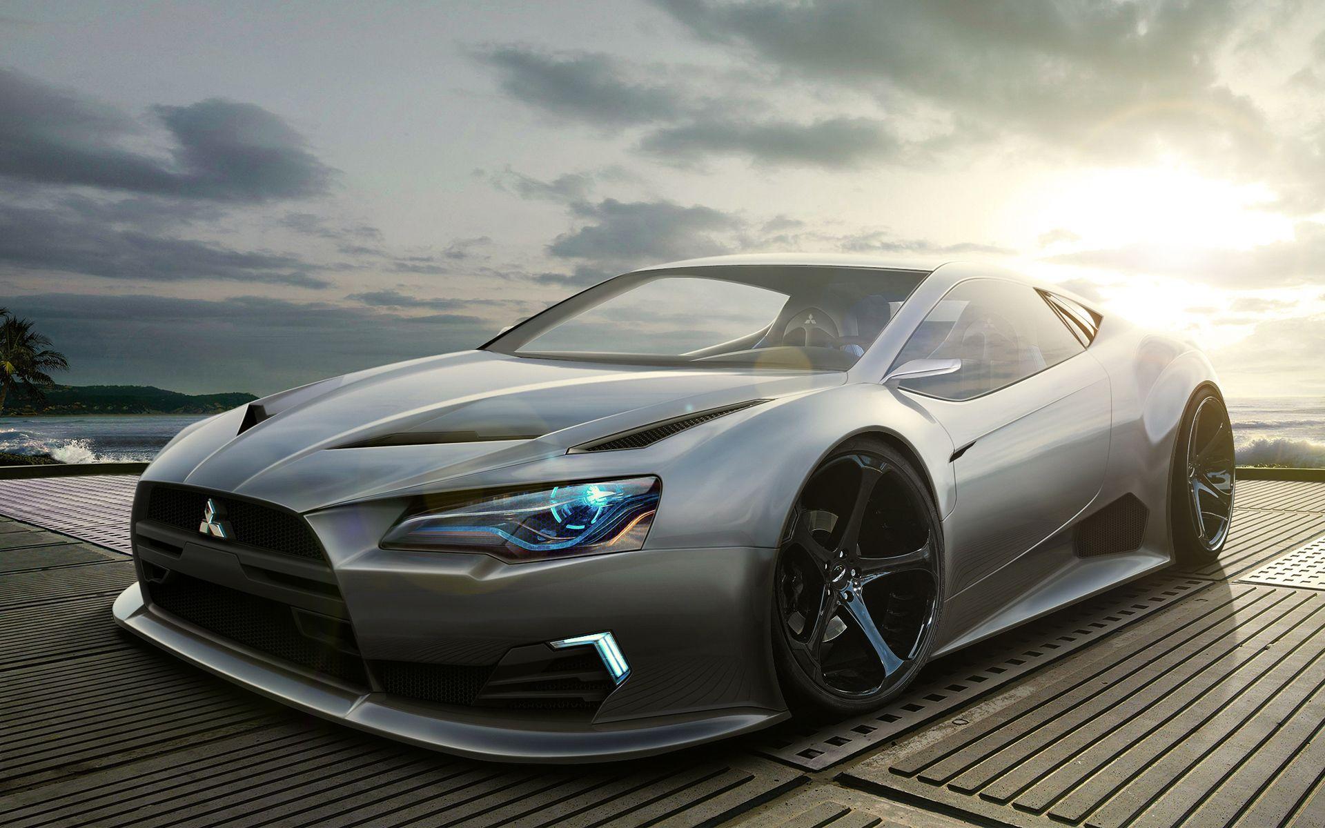 Hd wallpaper car - Awesome Mitsubishi Concept Car Hd Wallpapers