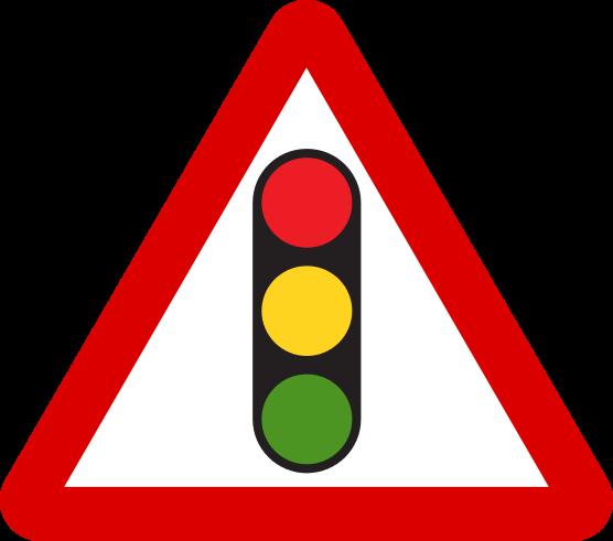 File Mauritius Road Signs Warning Sign Traffic Signals Svg Road Signs Traffic Signs Traffic Signal