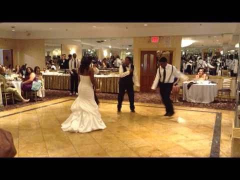 Best Dance Wedding Performance Chris Brown Forever You Entrance