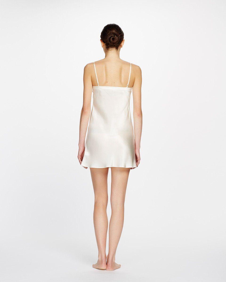 Silk Chemise, Chemise, Flare Skirt