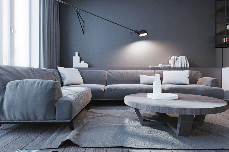 Divani Angolari Con Tavolino.1001 Idee Per Case Moderne Interni Idee Di Design