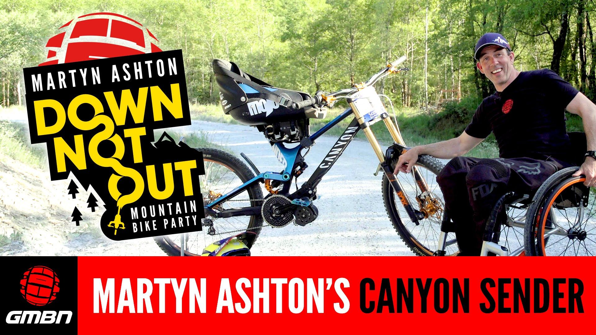 Martyn Ashton S E Go Equipped Canyon Sender Cf As Used In Down