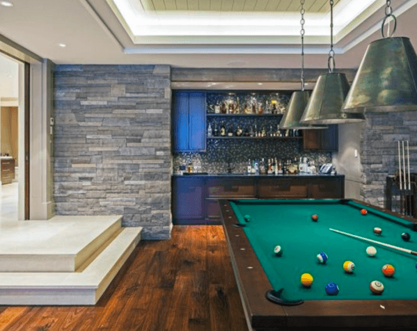 Top 80 Best Billiards Room Ideas Pool Table Interior Designs Billiard Room Contemporary Family Rooms Pool Table Room