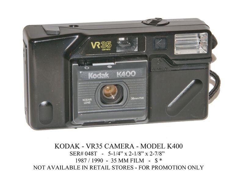 camera = K400 = grade C] Kodak K400 VR35 point & shoot