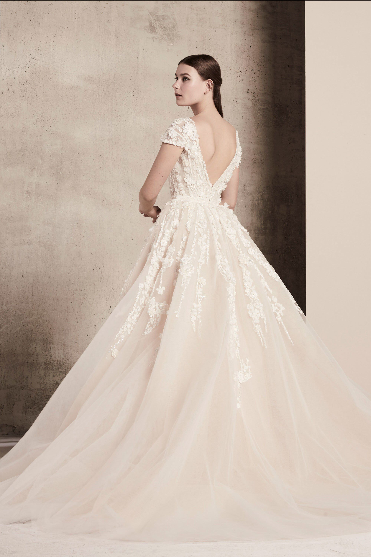 Elie Saab Bridal Spring 17 Fashion Show  Hochzeitskleid, Elie