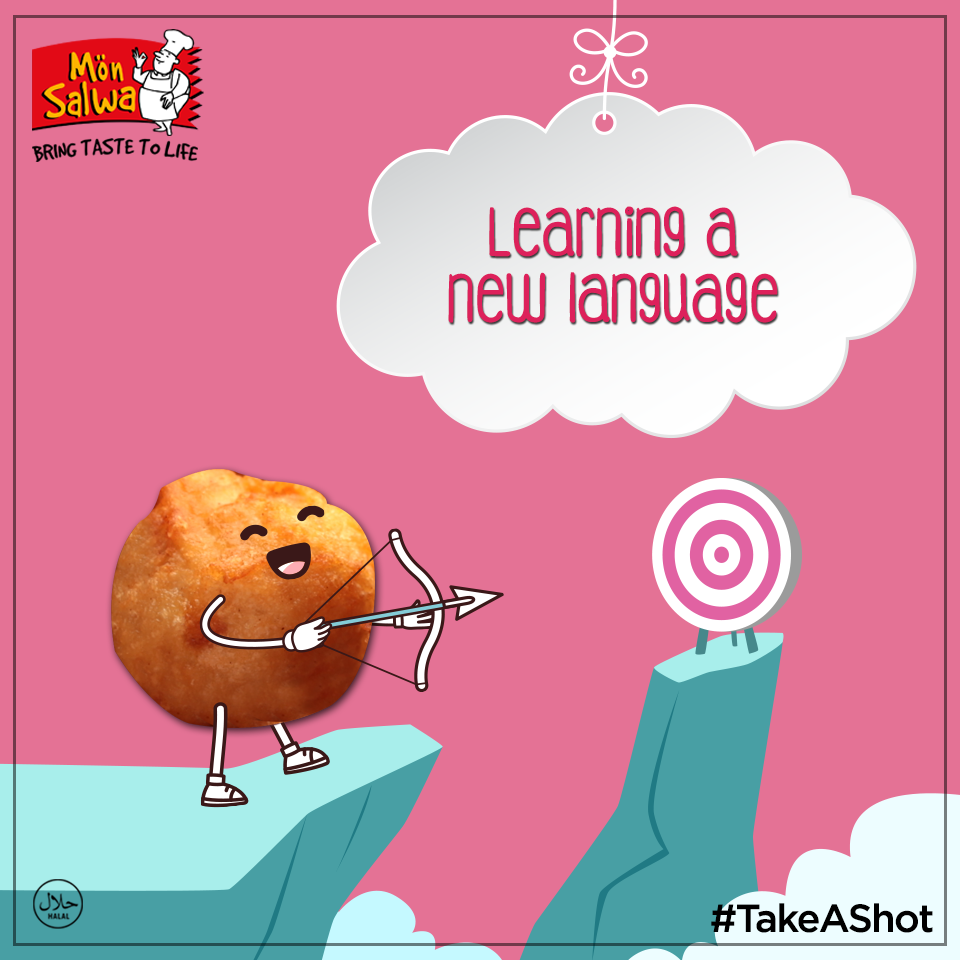 A new years calls for a new language! Why don't you #TakeAShot at learning a new language?