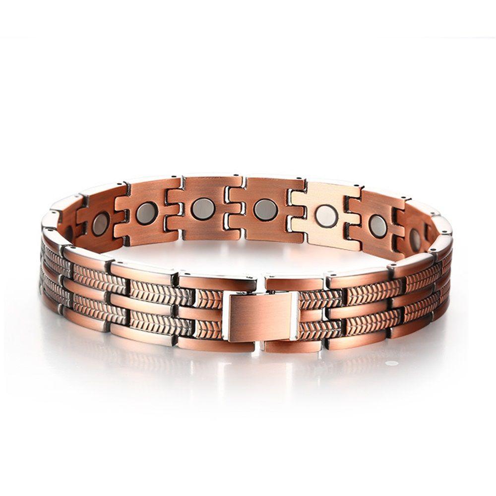 Adjustable length healthy magnetic bracelet arthritic pain relief