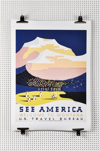 See America Montana Print | £59 | BUY AT GRANDPA.SE (located by e-tailtherapy.com - the best guide to online shopping)