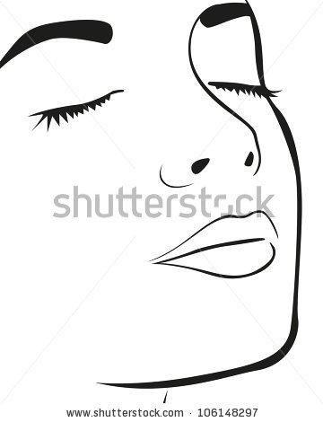 Face Outline Face Outline Silhouette Face Silhouette Sketch